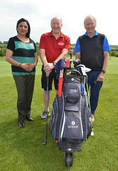 Chesfield Downs Golf Club Seniors Section Charity of the Year 2018 partnership