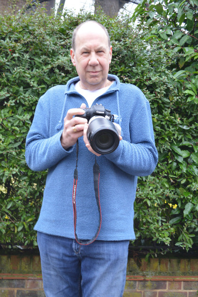 Ron Baber with camera web