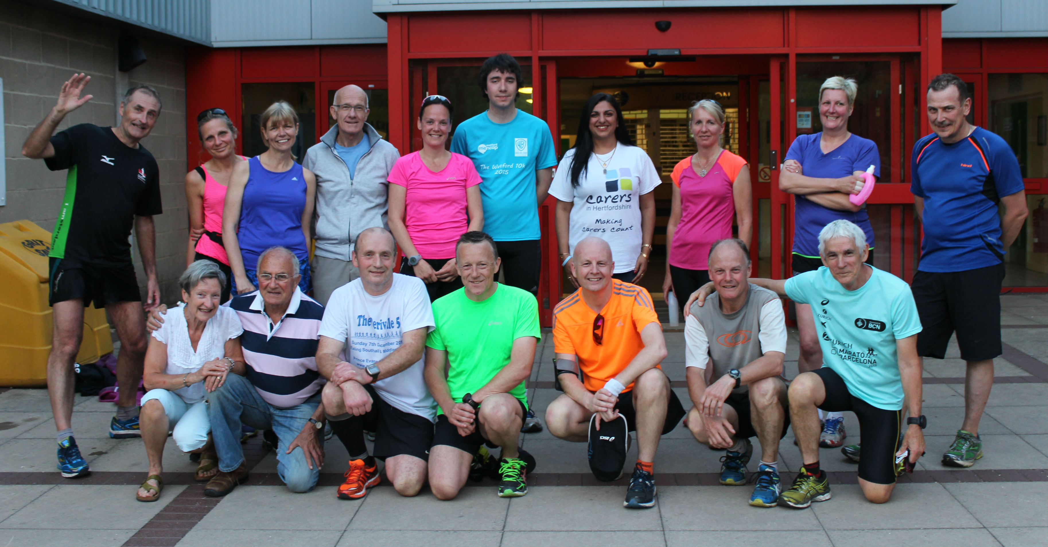 Ware Joggers Charity Partnership