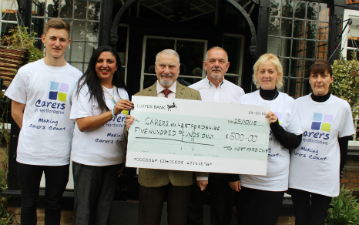 Hertford Club donation web