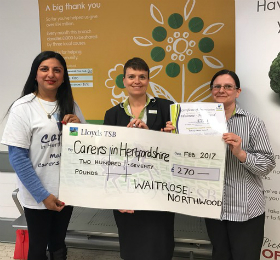 Waitrose Northwood donation Feb web