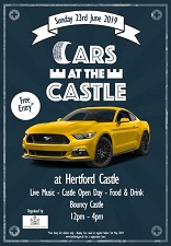 cars at the castle 2019 web