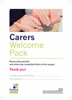 Website Carers Welcome Pack