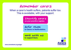 Remember Carers Postcard