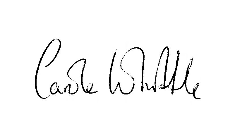 Carole Whittle's Signature