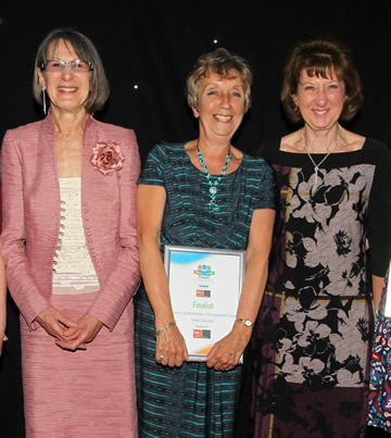 Bereavement Group Comet Community Awards 2015 Valiant Volunteer finalists w360