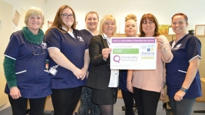 Our Crossroads Care Service staff celebrate 'good' CQC rating