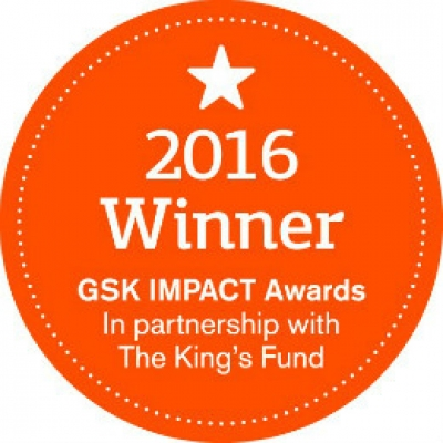 GSK Impact Award Winner 2016