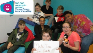 Carers in Hertfordshire Young Carers Awareness Day 2018 image