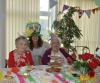 Pensioners enjoy afternoon tea party