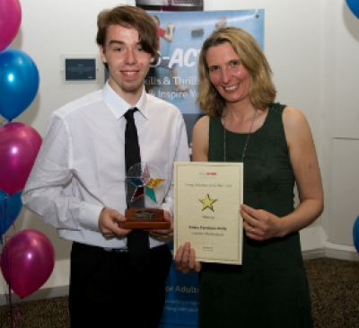 Young carer wins award