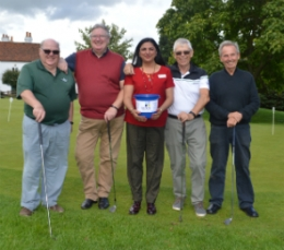 Golfers drive up donations to support unpaid carers