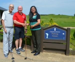 Golfers tee up to support us in Making Carers Count