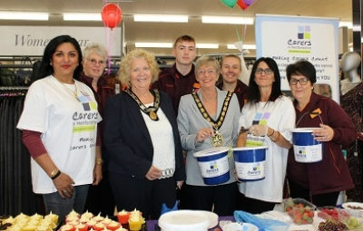Sainsbury's Stevenage Local Charity of the Year 2018 partnership launch